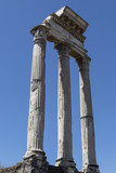 Temple of Castor and Pollux - Rome - Italy poster