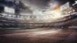 Sports Background.Football Stadium. Sport Arena