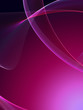 Nice abstract background with soft gradient under flame wave shapes