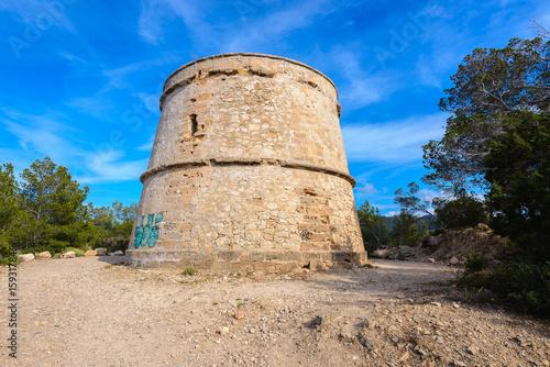 Portinatx Tower, Ibiza, Spain