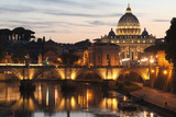 St. Peter's Basilica - Vatican City - Rome - Italy poster