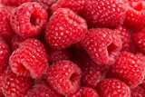 Close-up background of raspberry