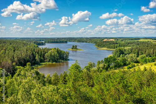 Masurian Lake District,  Landscape lake Jedzelewo, Stare Juchy