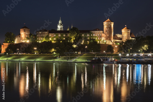 Papiers peints Cracovie Wawel Royal castle in Krakow, Poland
