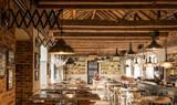 Restaurant interior - 159372679