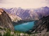 Green lake water