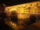 Ponte Vecchio bei Nacht
