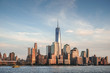 Cityscape of New York from water