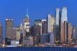 ニュージャージー�ら見�マン�ッタン 夕景