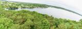 Krakower Seenlandschaft: Blick vom Jörnberg auf den Gruber See