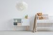 Bright and warm nursery