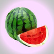 Polygonal watermelon. - 159472285