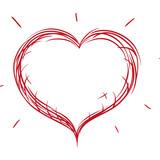 Heart and love icon vector illustration graphic design - 159478091