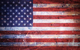 Vintage Old Grunge American Flag - 159491484