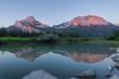 Mountain Reflection near Canmore, Alberta, Canada