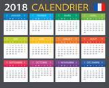 Calendar 2018 - French version - 159510410