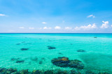 Sea, landscape. Okinawa, Japan, Asia.