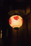 京都先斗町の提灯