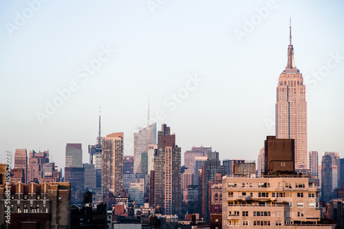 Midtown Manhattan Skyline Poster