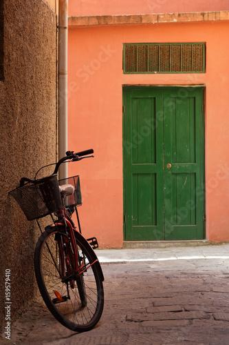 Le vélo est le moyen de transport dans les ruelles de Monterosso