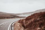 scotland landscape. rural route,
