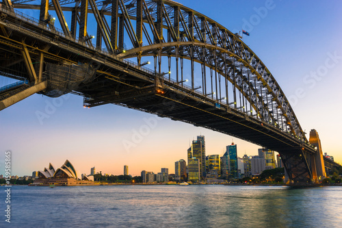 Sydney Harbor Cityscape Poster