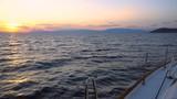 Sailing at sunset - 159605420