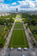 Paris as seen from above