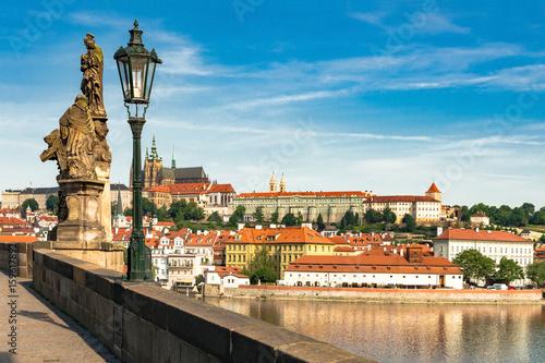 Prag von der Karlsbrücke, Tschechien - 2058