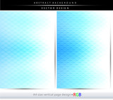 Abstract blue geometric shapes backgrounds, brochure & flyer covers. - 159621279