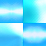 Abstract blue geometric shapes backgrounds. - 159629287