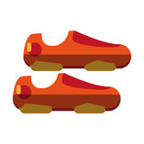 exercise shoes icon image vector illustration design