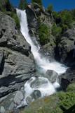 cascate di lillaz frazione di cogne val d'aosta italia europa waterfall in italy