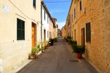 Wander around the back streets of the old city of Alcudia in Majorca Spain, where you will see the authentic architecture of the town.