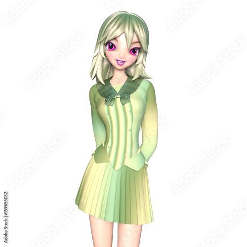 若い女性 - 159655032