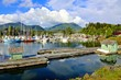 Beautiful Ucluelet Harbour, Pacific Coast, Vancouver Island, BC, Canada