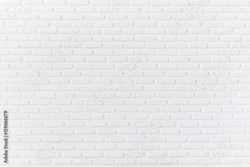 Foto op Plexiglas Baksteen muur White brick wall for background and textured