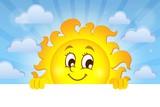 Happy lurking sun theme image 2