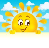 Happy lurking sun theme image 4