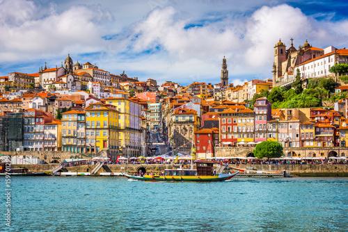 Porto, Portugal Skyline Poster