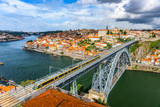 Porto, Portugal Skyline and bridge.