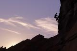 Mountain Climber Silhouette - 159708608