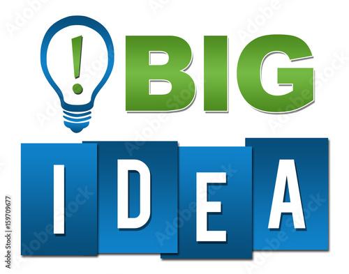 Big Idea Professional Green Blue With Symbol