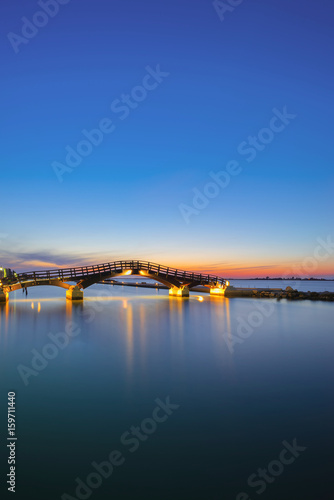 Plagát Bridge on the Ionian island of Lefkas