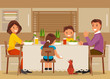 Family dinner - 159712411