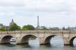 Old bridge, Pond Royal, over river in Paris,