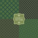 Arabic Seamless Pattern. Moroccan Pattern. For Eid Mubarak Muslim Festival.