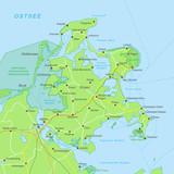 Rügen Karte - Grün (NSG) - 159749022