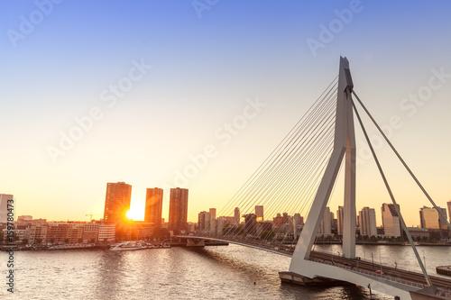 Fotobehang Rotterdam Rotterdam