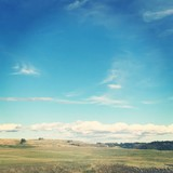 Landscape in Alberta with Effects